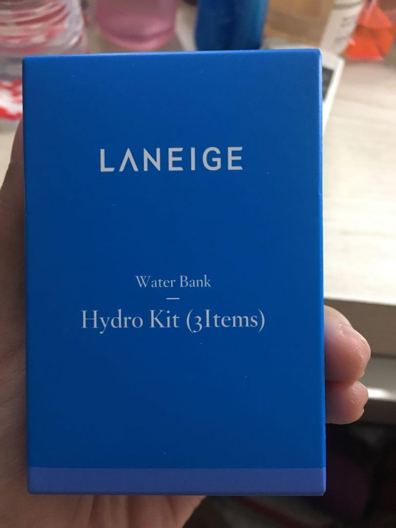 Laneige water bank hydro kit set