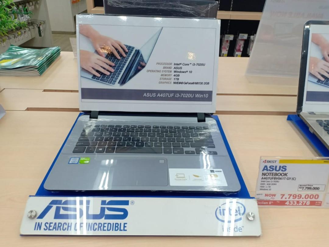 Laptop Asus Win10 Kredit Cepat Gratis 2x Cicilan