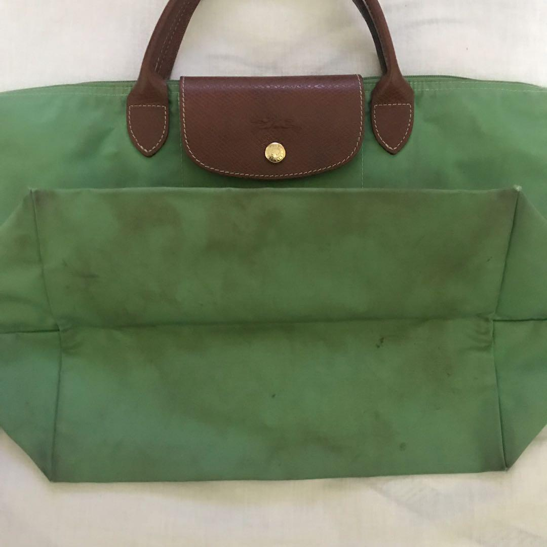 Longchamp Bag warna hijau muda