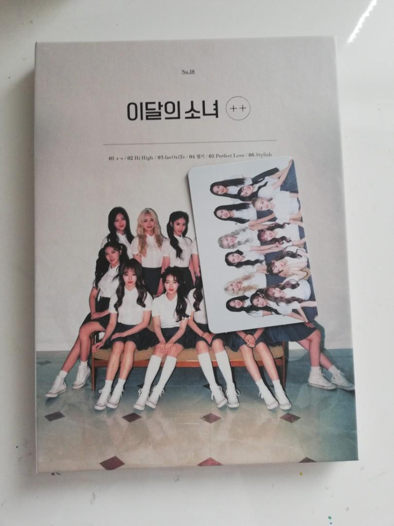loona ++ limited a ver. with photocard