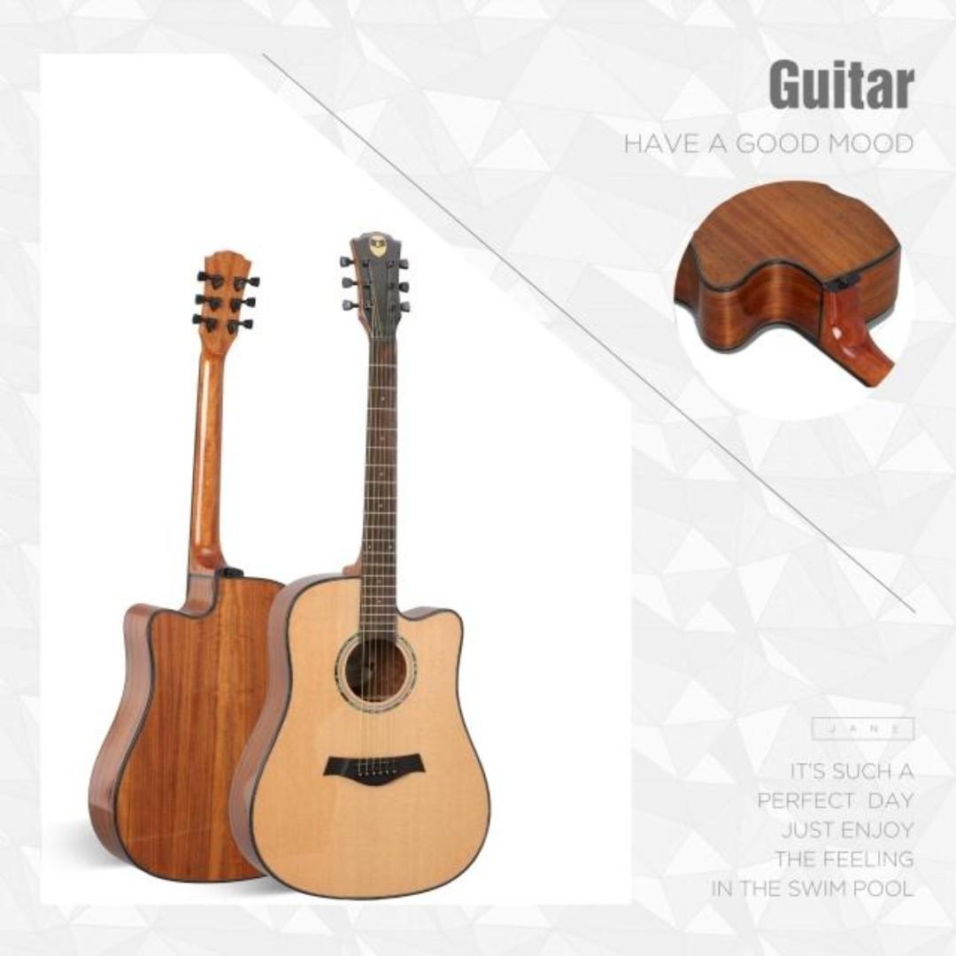 LQ AC20 acoustic guitar