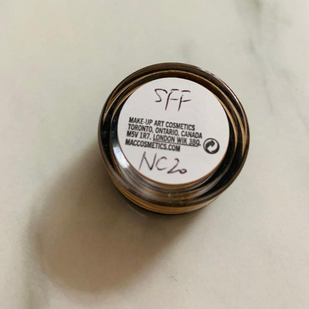 M·A·C Studio Fix Fluid (霧鏡粉底) NC20 - Sample #MTRkt