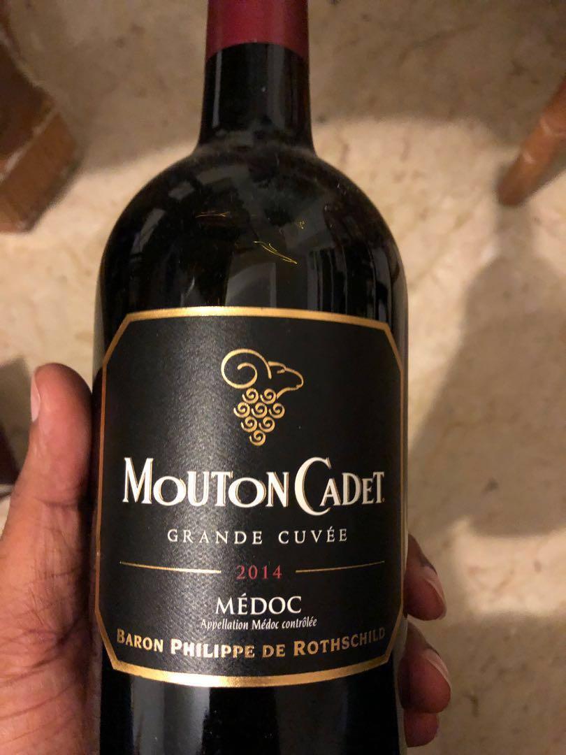 Mouton Cadet French wine Bordeaux