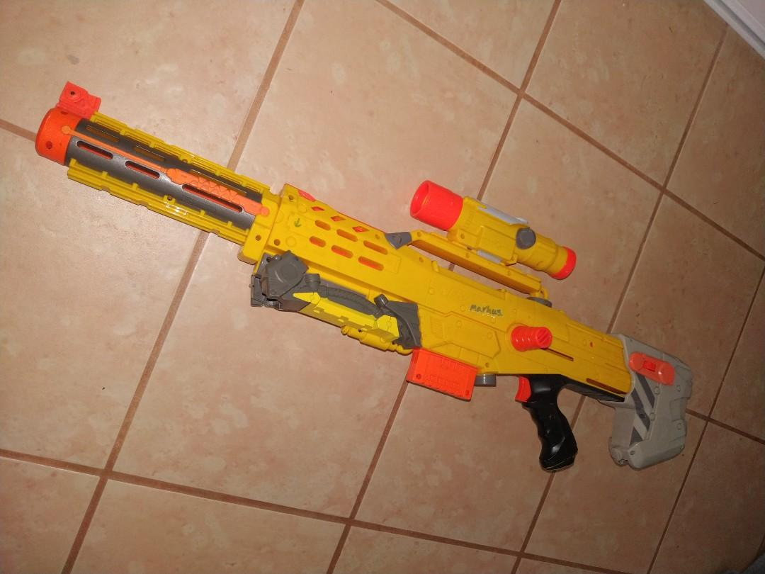 N-Strike Need gun everything included (no need bullets)
