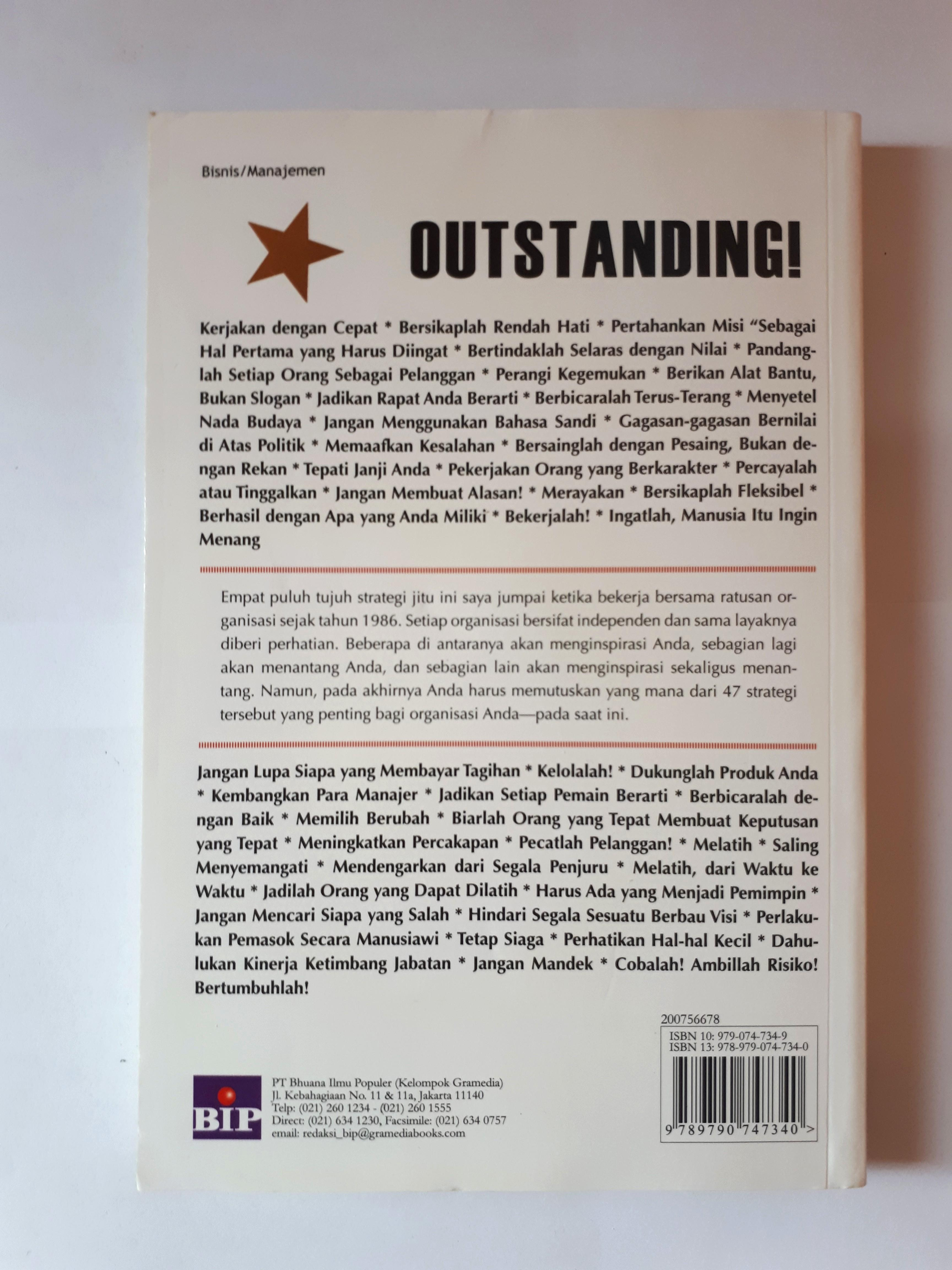 [Original] Buku Outstanding!, by John G Miller