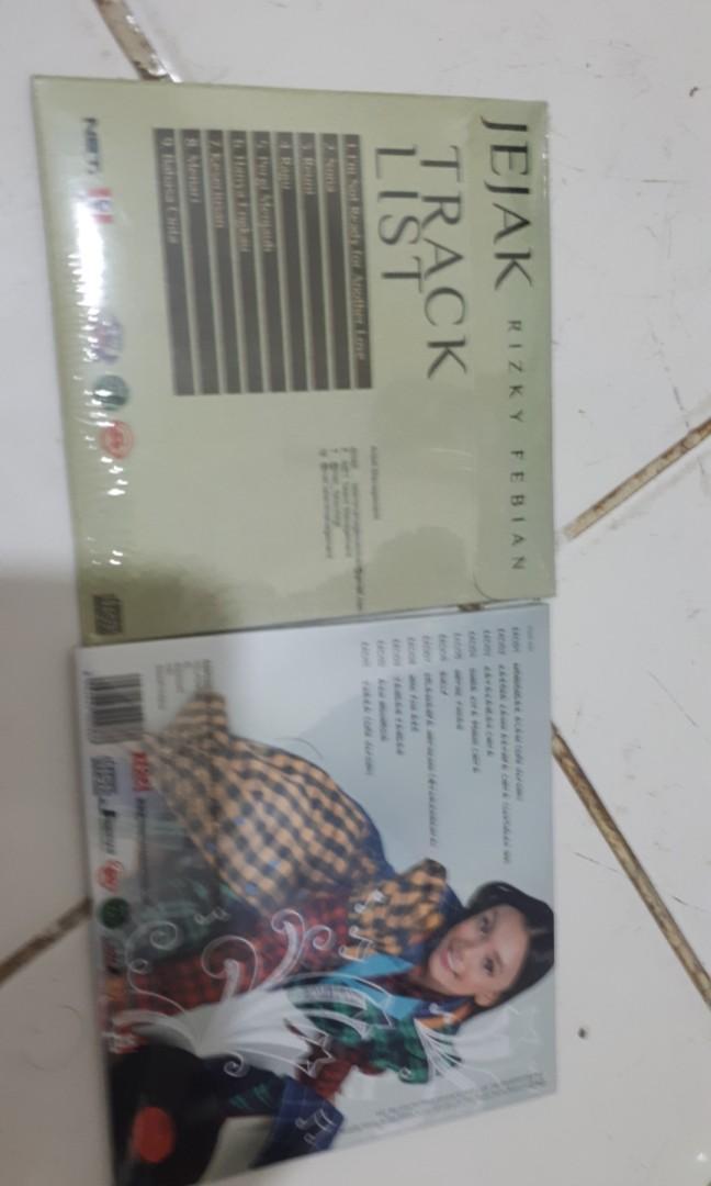 Original CD Rizky Febian Jejak