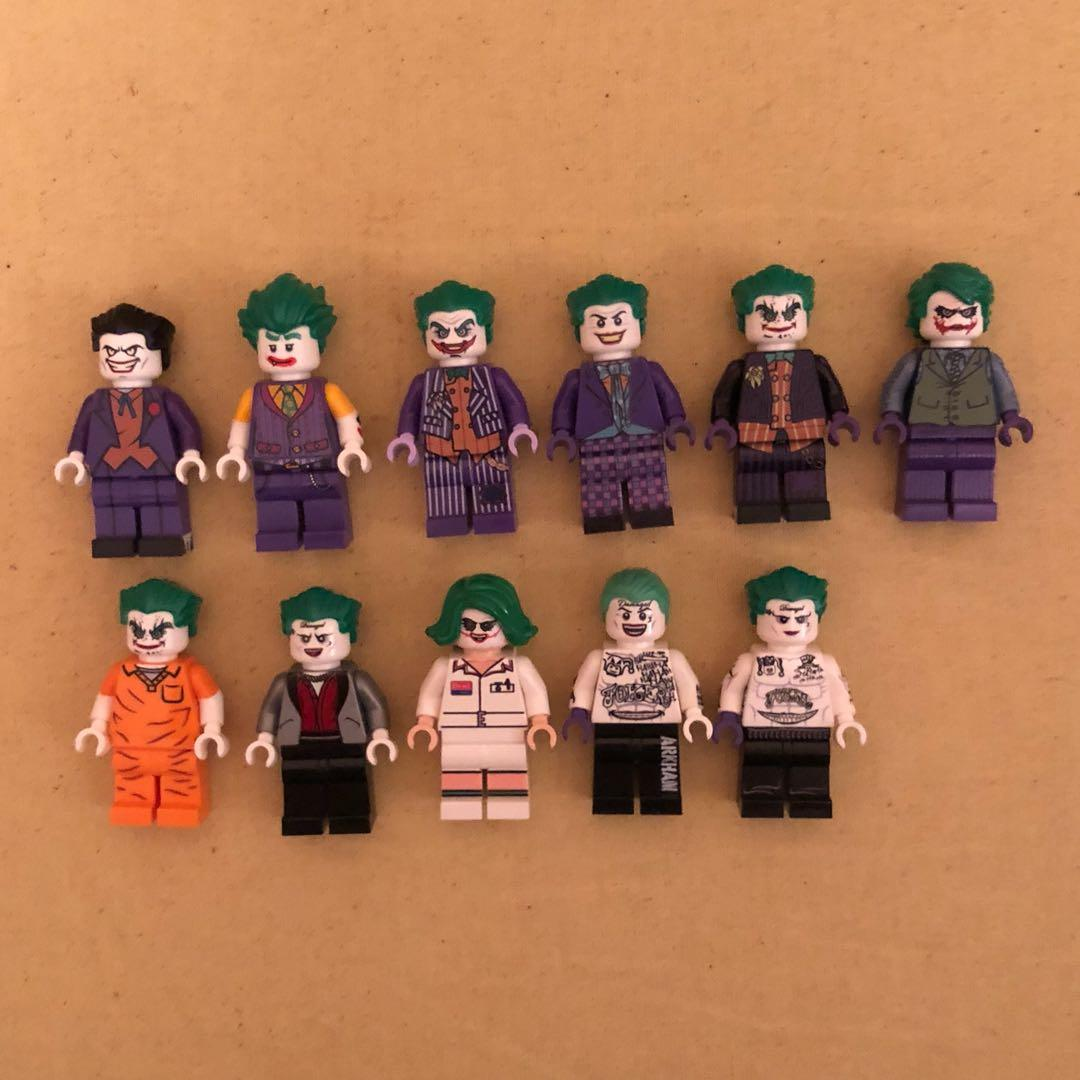 ORIGINAL CUSTOM LEGO MINIFIGS MINIFIGURES JOKER BATMAN