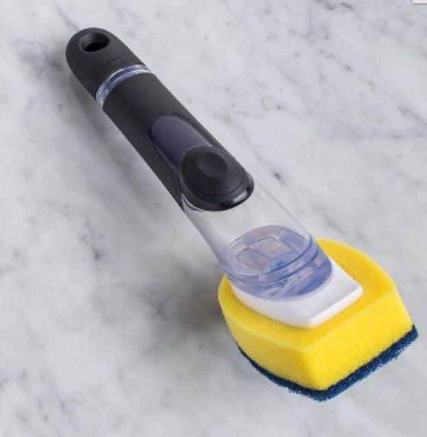 OXO Good Grips Soap Dispensing Dish Scrub
