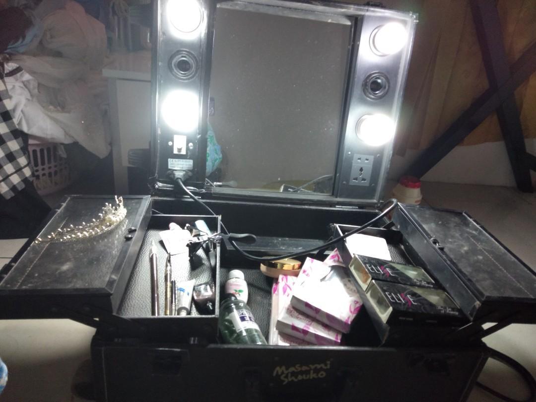 Paket beautycase koper makeup mua