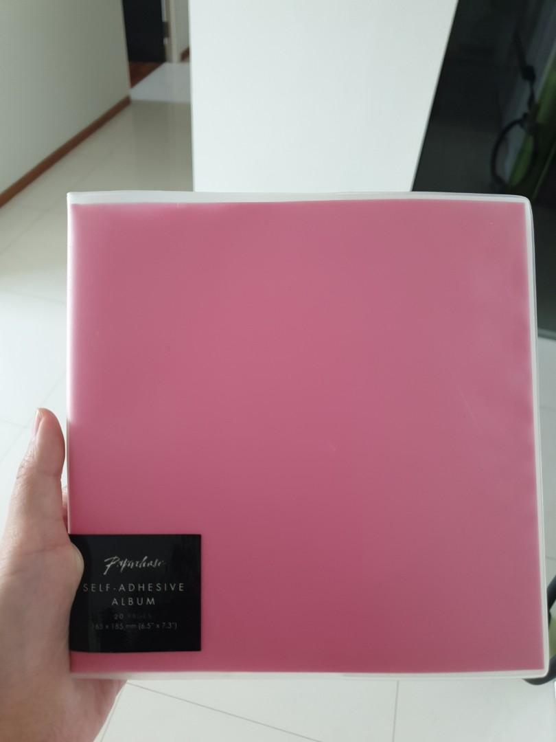 """Paperchase self-adhesive album. 20 pages. 6.5"""" x 7.3"""""""
