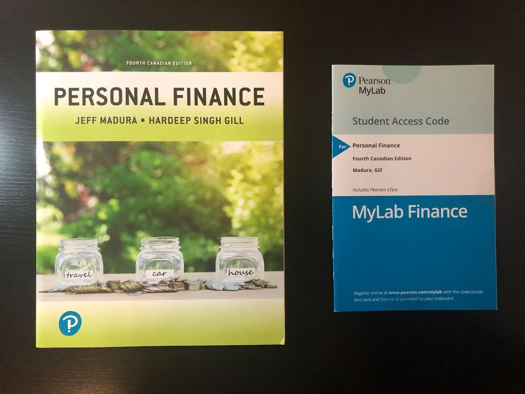 Personal Finance by Mardura and Gill, Fourth edition