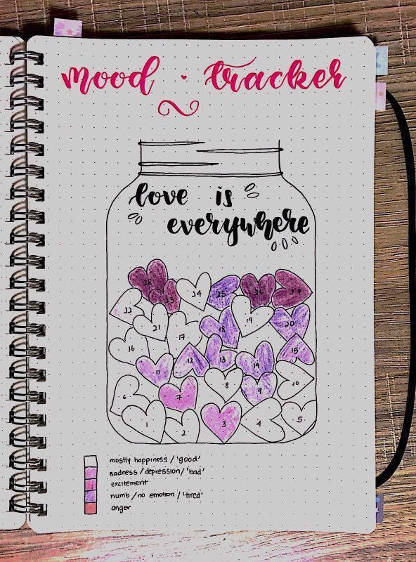 personalised handmade bullet journal