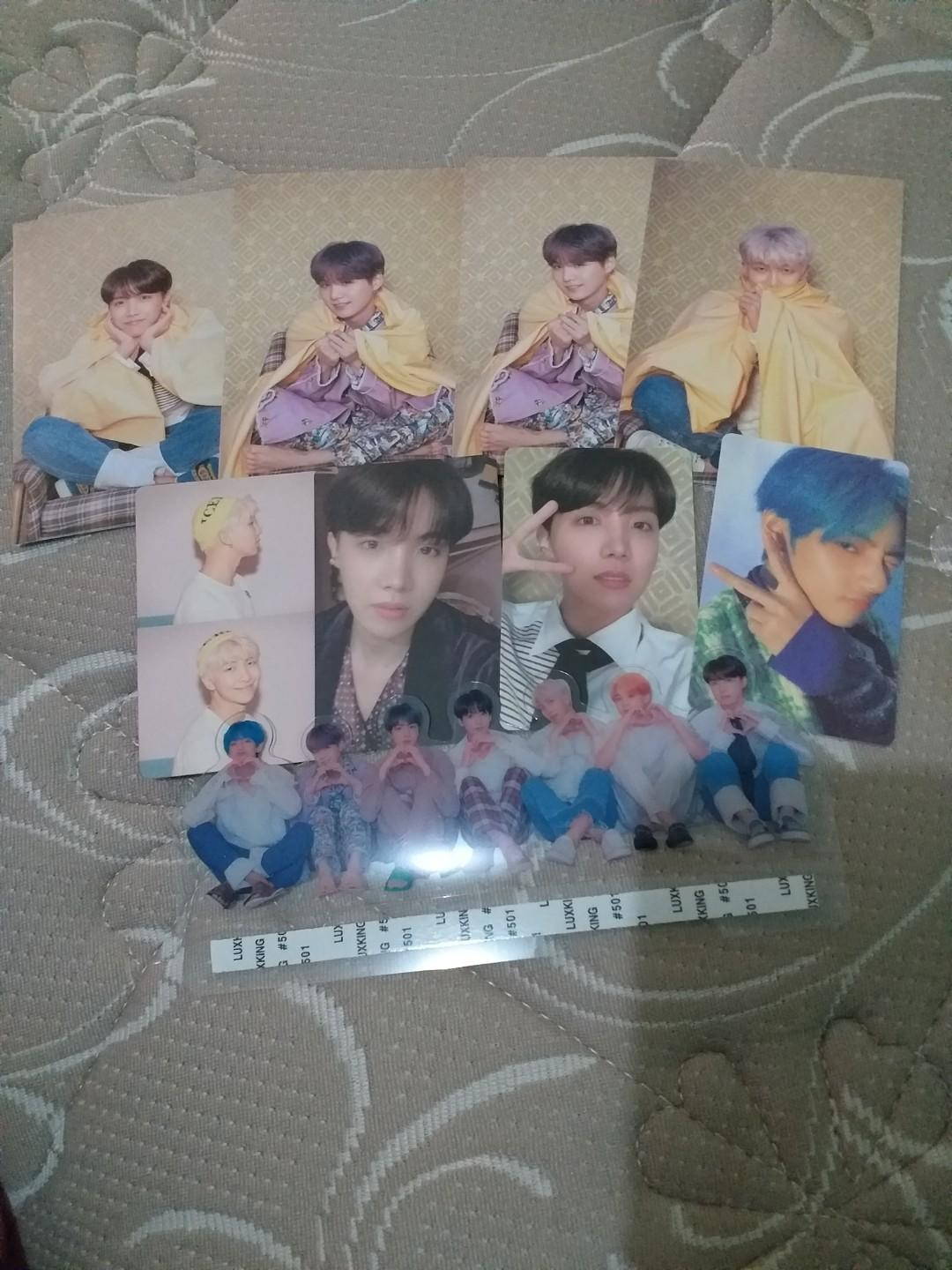 Photocard Postcard BTS Only From Persona