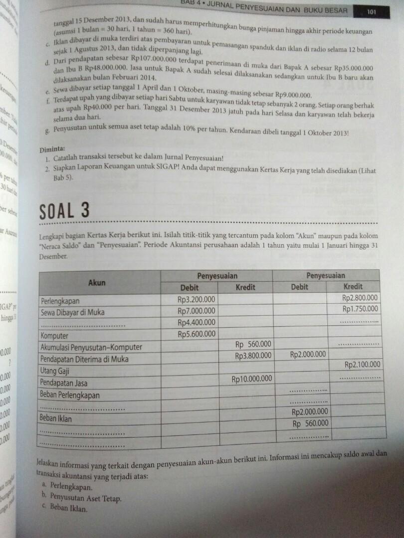 Soal Uas Pengantar Akuntansi 2 Dan Jawabannya