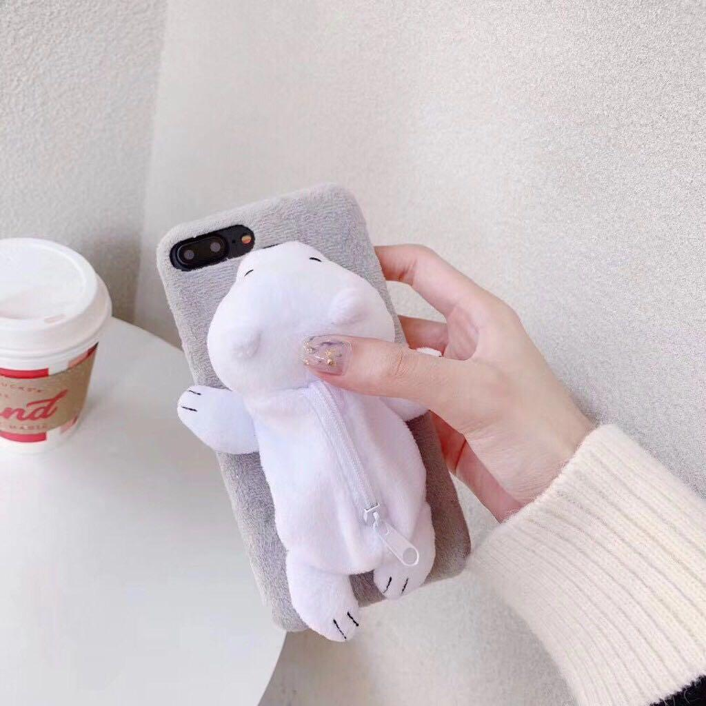 PREORDER We Bare Bear Toy Pouch Phone Case