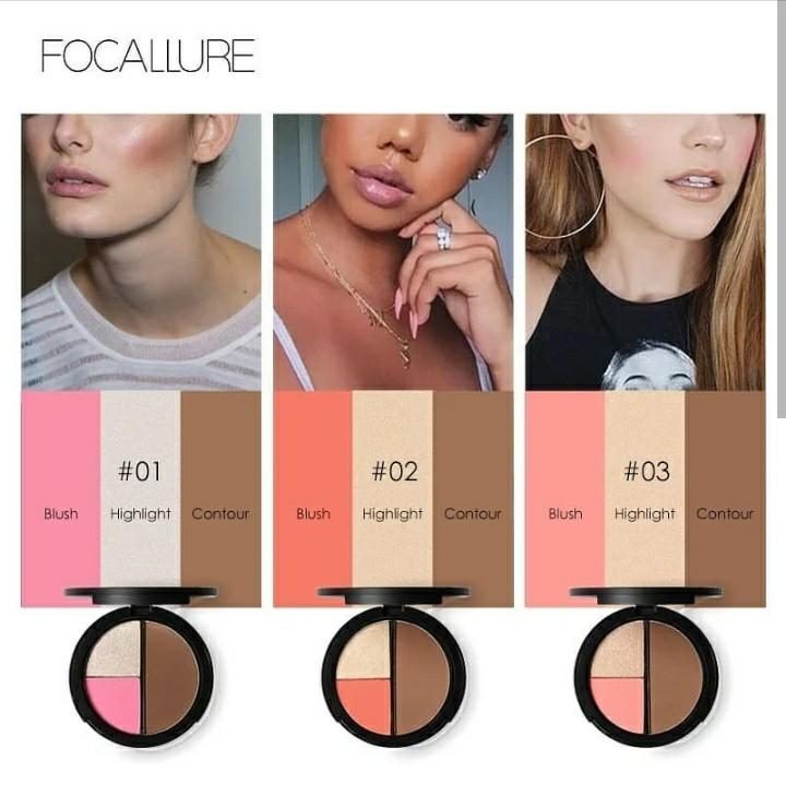 Ready Stock Make Up Focallure Mulai 30k 100% Original Siap Kirim Freeong