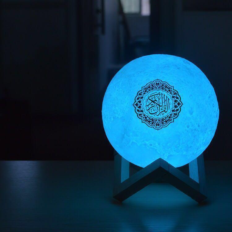 🌟Ready Stock: Moon Lamp Quran Speaker