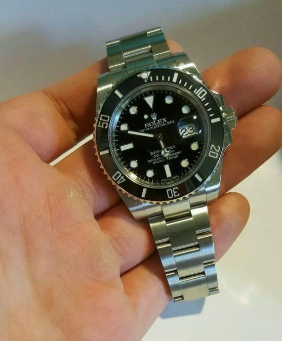 Rolex Submariner Date 116610LN (Black)