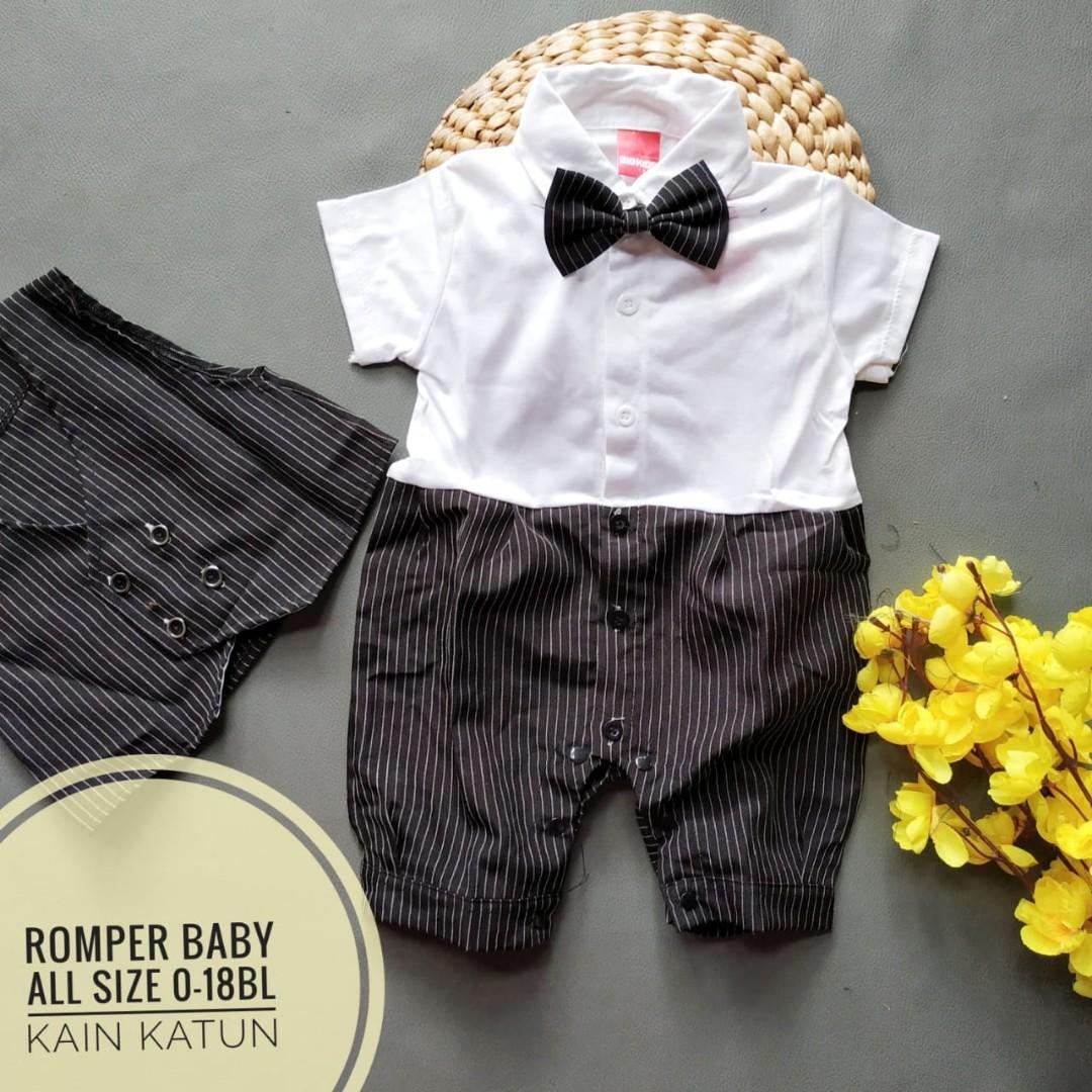 Romper bayi usia 0-18bln