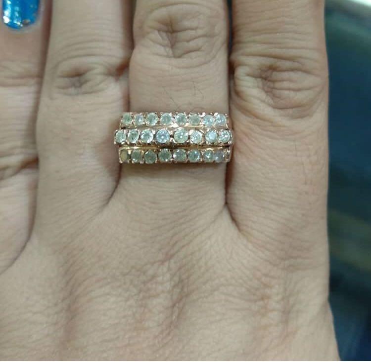 Sale cincin baris 3 tingkat, rangka sudah besar, dipakai juga sudah lumayan besar ya