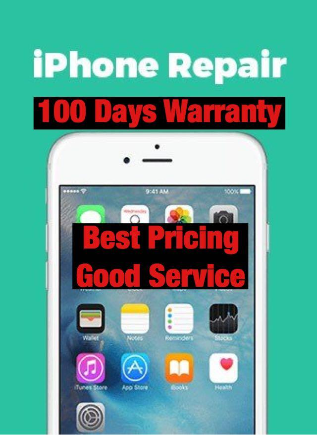 Samsung Phone Repair, iPhone 7 8 X XR Plus Crack LCD Repair