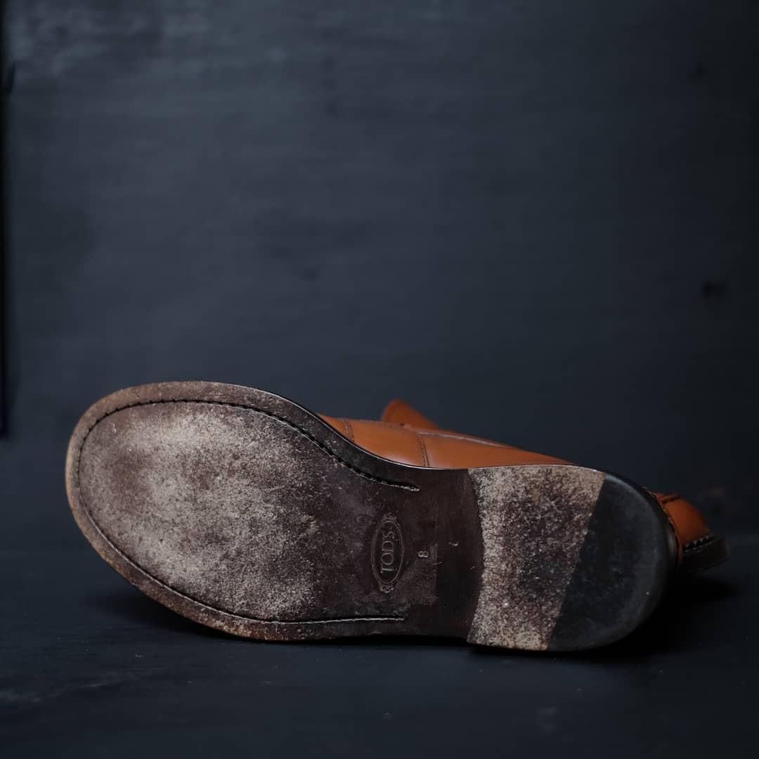 Sepatu Pantofel Tods Loafer Original Made Italy not Bally