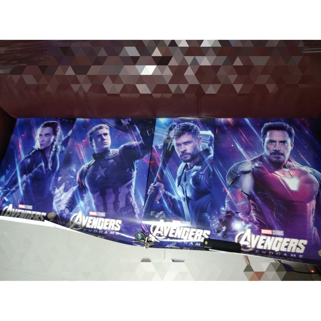 全新復仇者聯盟四Size 2A海報 Avengers4 2APoster