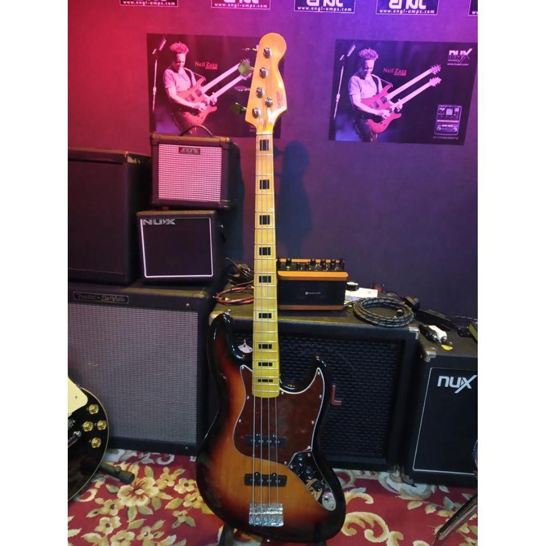 Sqoe action bass 低音結他 (12/5)