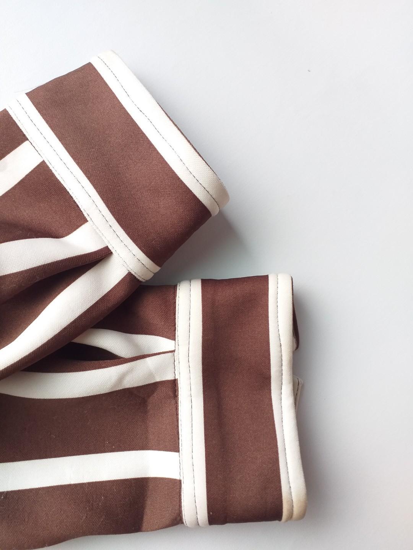 040 Stripe Jacket + Pants Brown