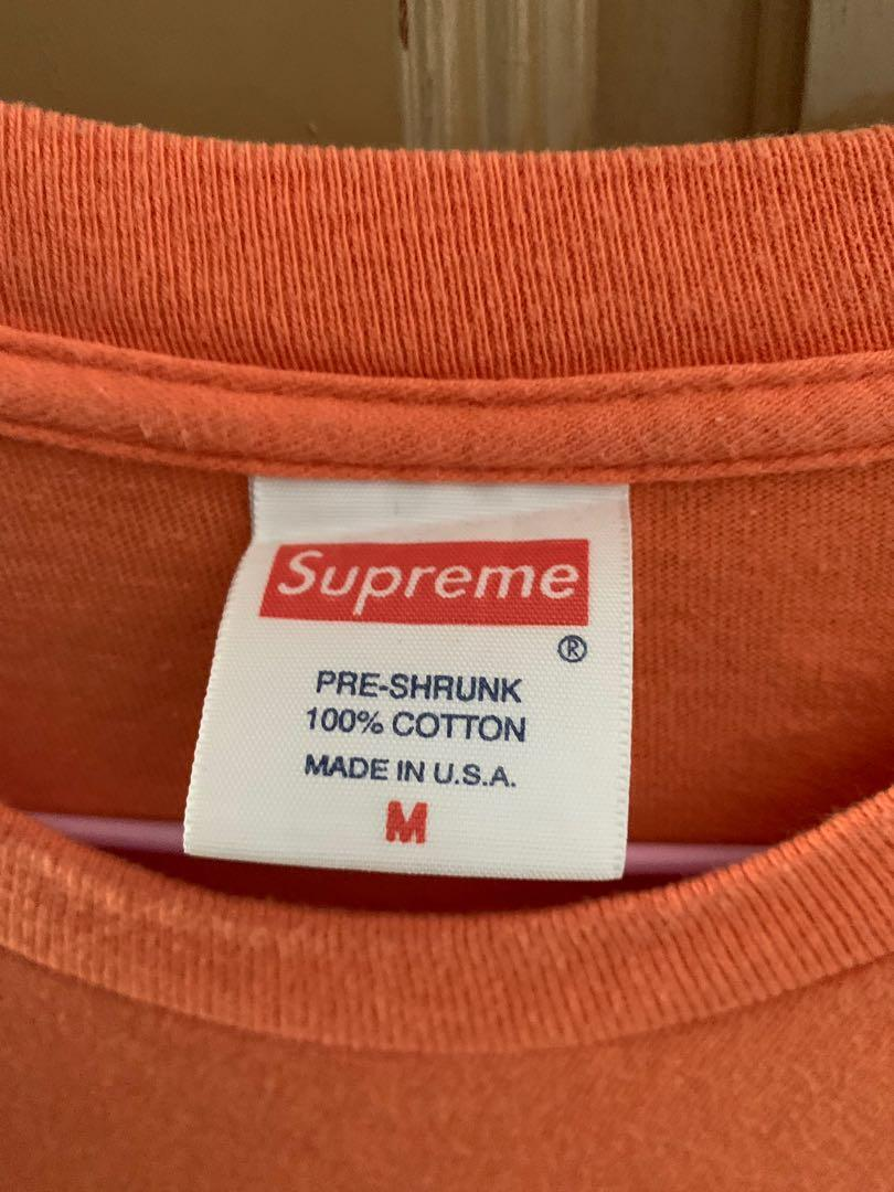 Supreme vintage sumo tee orange