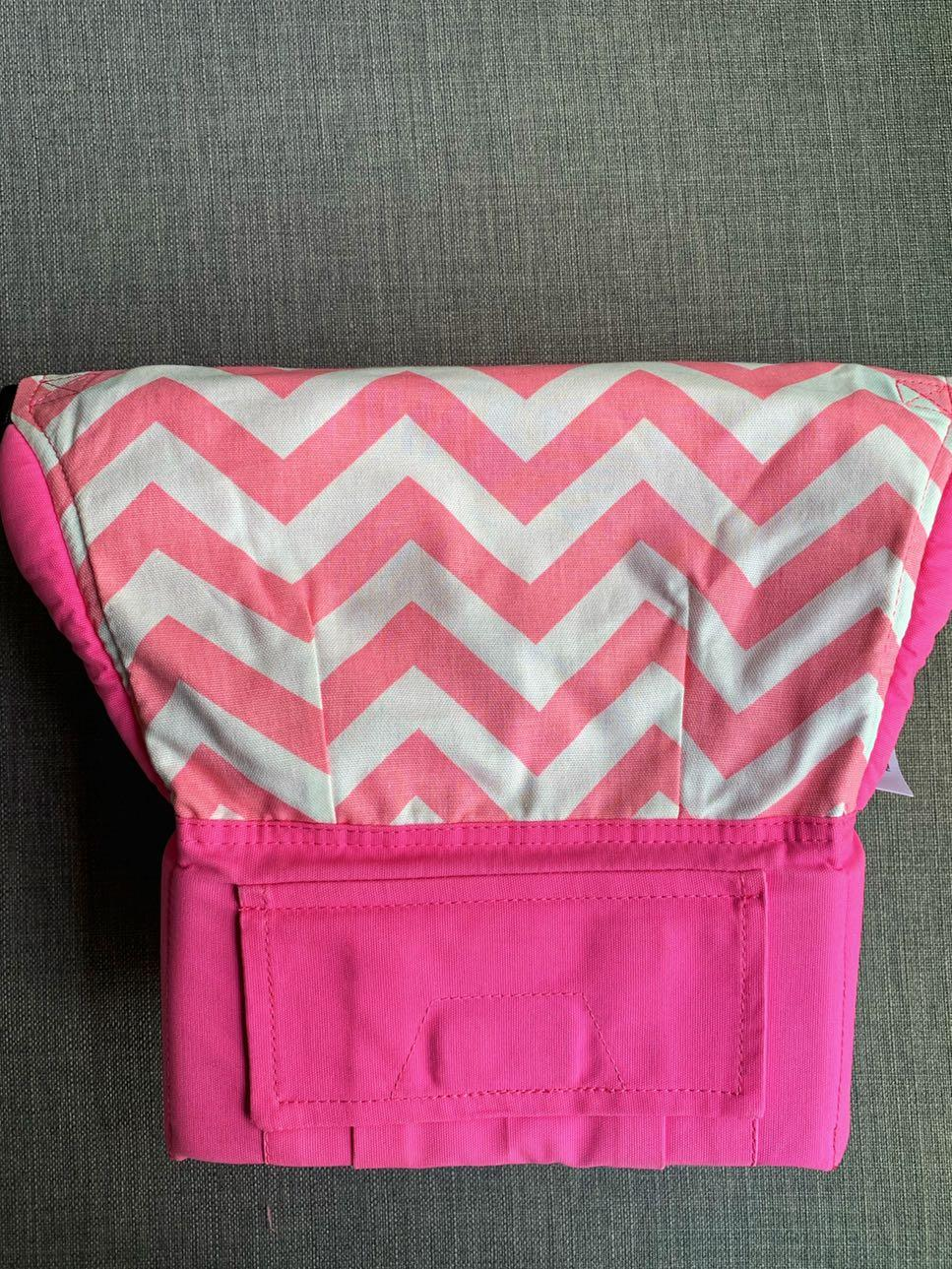 <PRICE REDUCED> Tula standard pink zig zag carrier