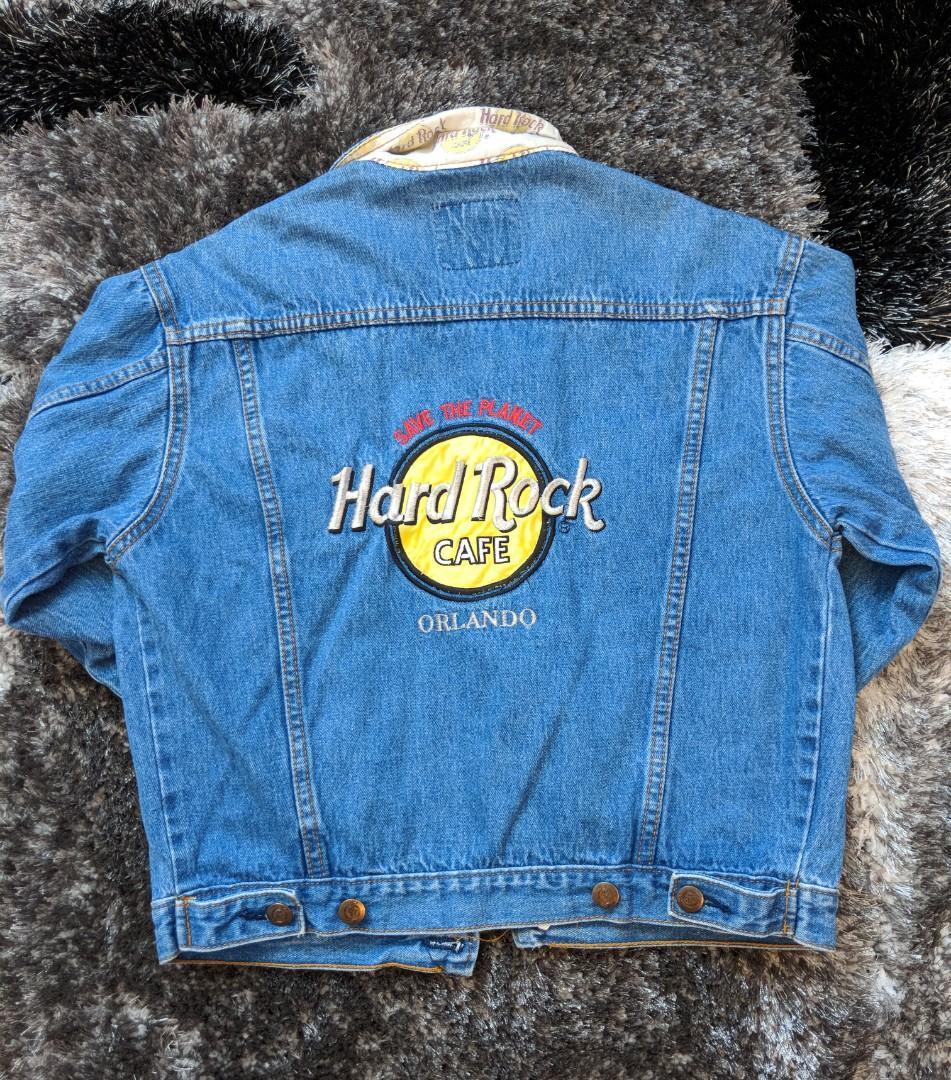 Vintage Hardrock Cafe jean jacket
