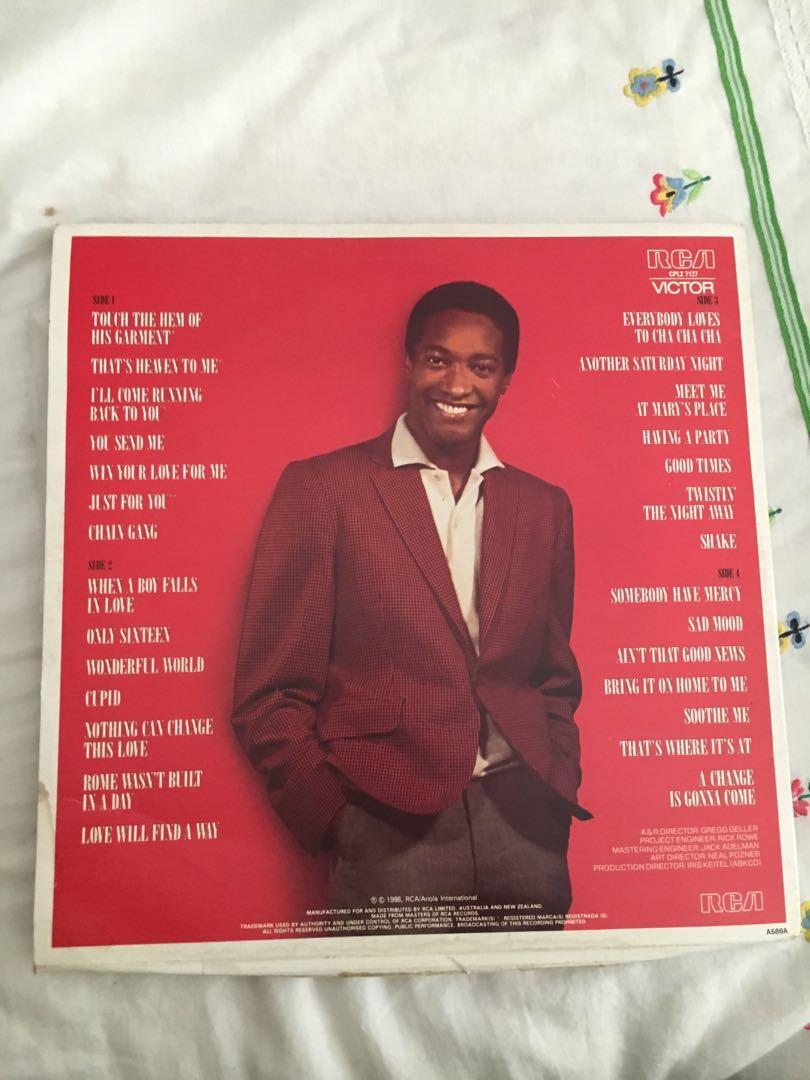 Vintage Sam Cooke The Man And His Music Vinyl Record