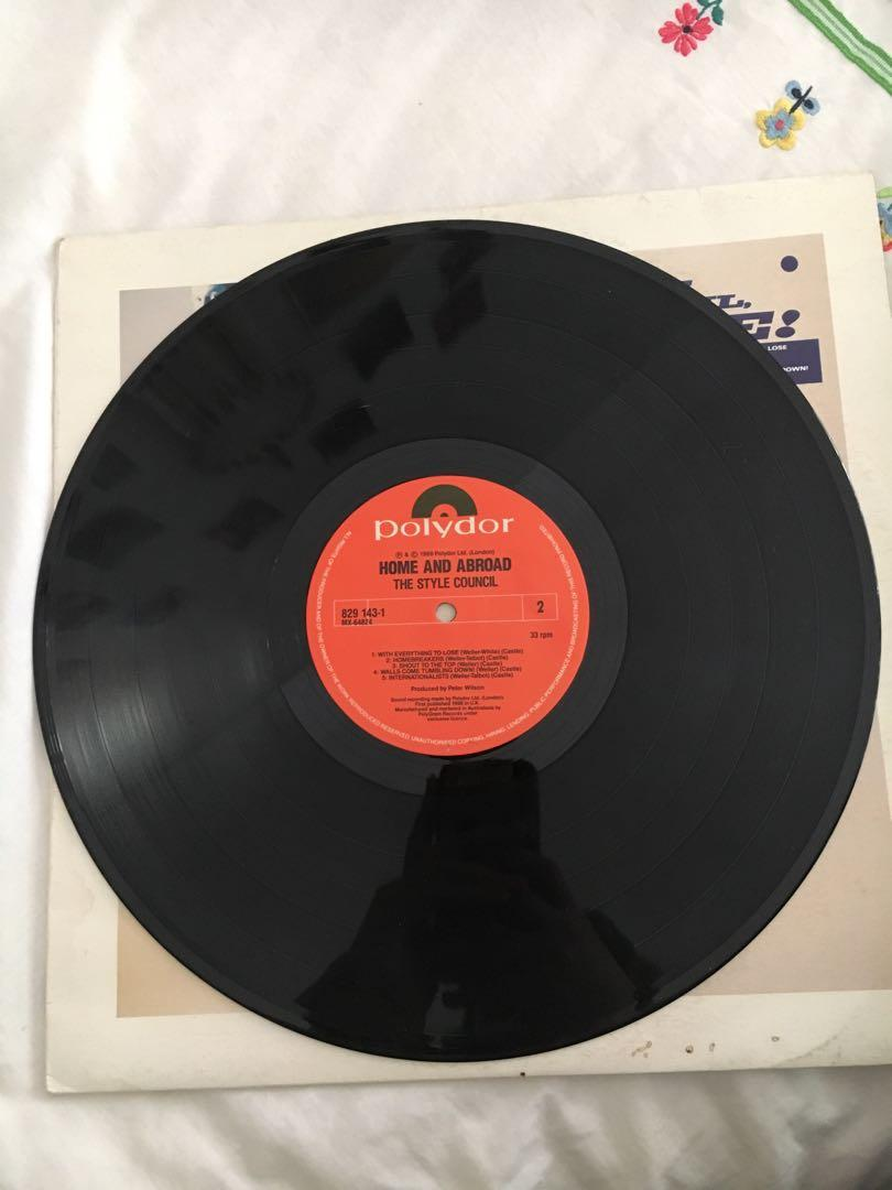 Vintage The Style Council, Home & Abroad Vinyl Record