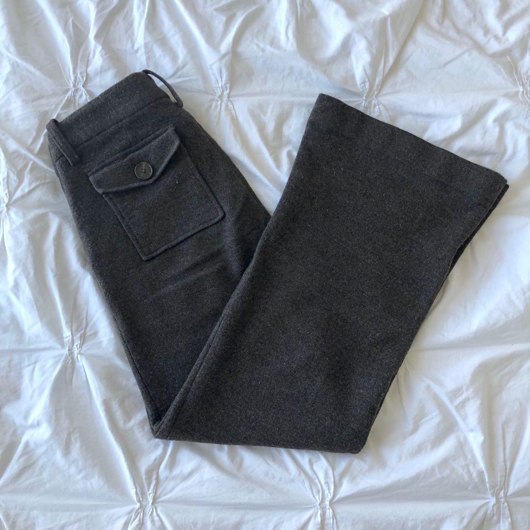 Vintage Wool Tory Burch Flare Pants