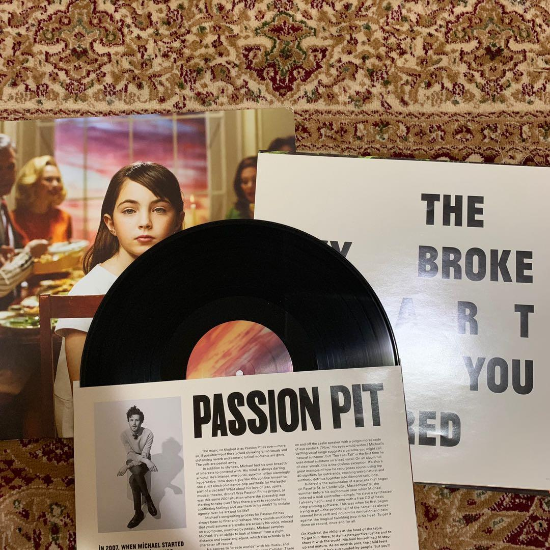 Vinyl Passion Pit - Kindred