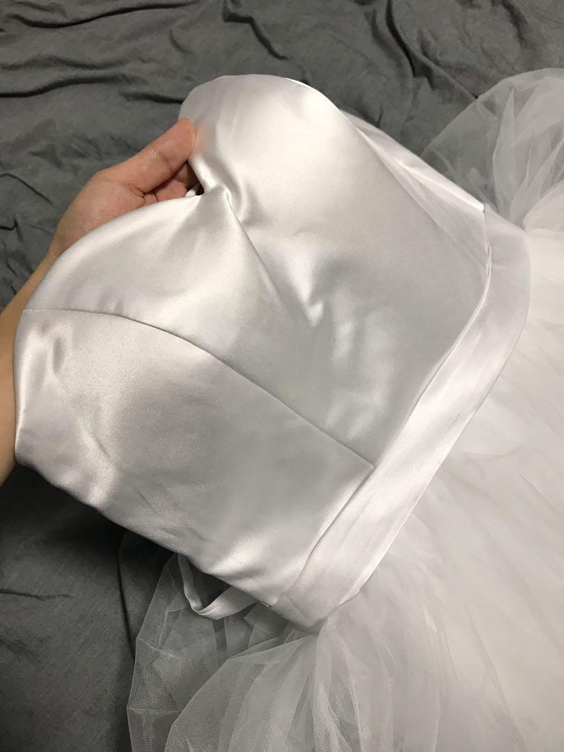Wedding dress corset / bridal gown