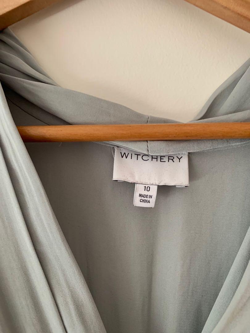 Witchery Silk Dress Size 10
