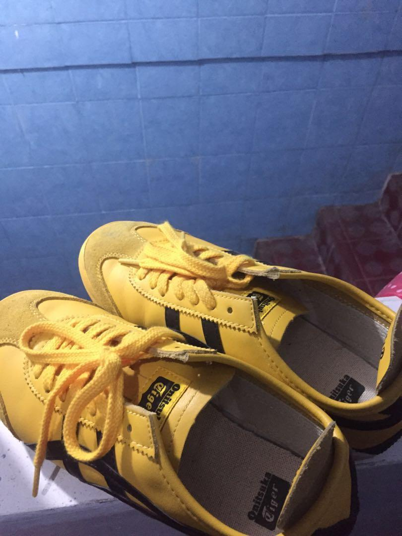 Yellow Sneakers Onitsuka Tiger Mexico
