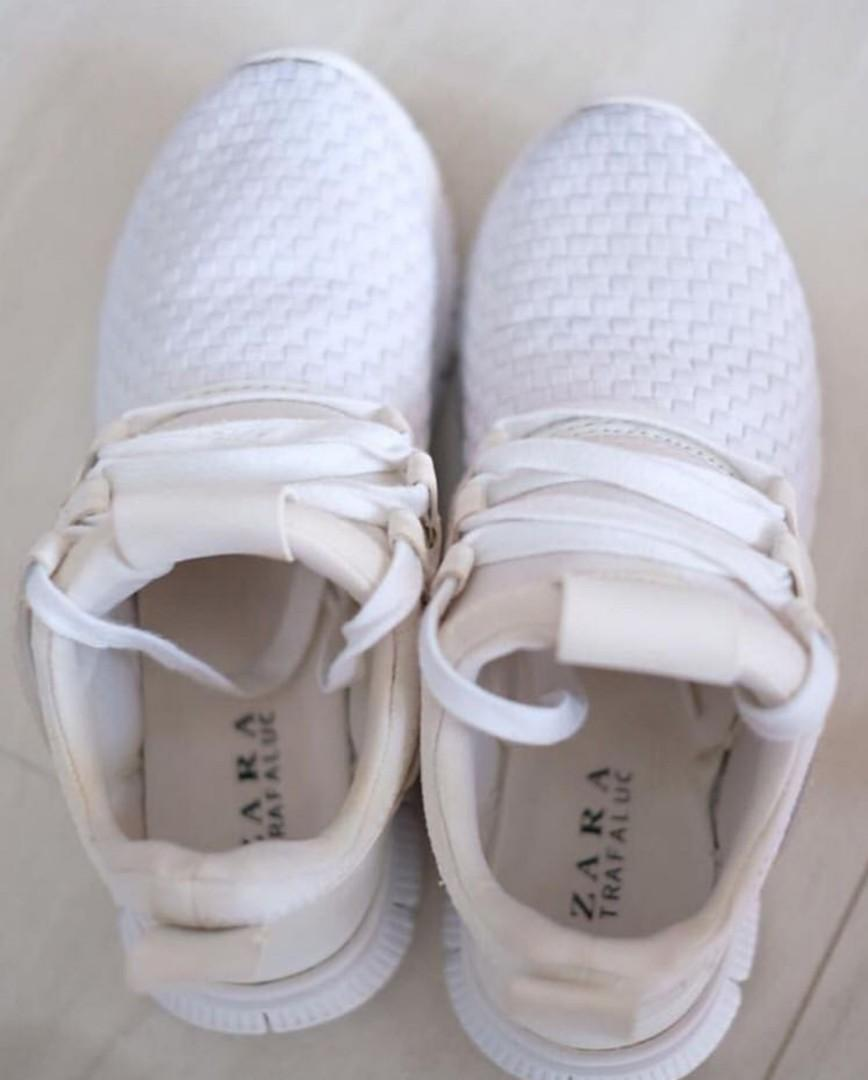 Zara White Shoes