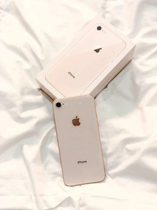 Iphone 8 64gb Gold Second