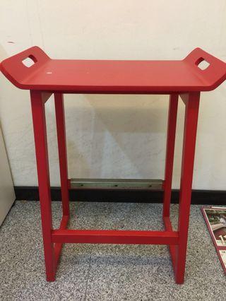 IKEA High Stool (Red)