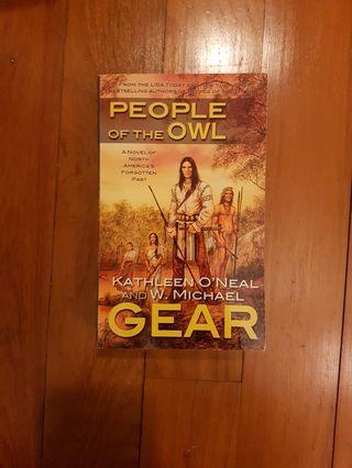 NORTH AMERICA'S FORGOTTEN PAST: PEOPLE OF THE OWL by KATHLEEN O'NEAL AND W. MICHAEL GEAR [PAPERBACK]