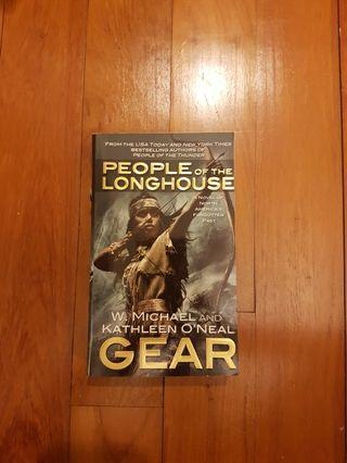 PEOPLE OF THE LONGHOUSE by KATHLEEN O'NEAL AND W. MICHAEL GEAR [PAPERBACK]