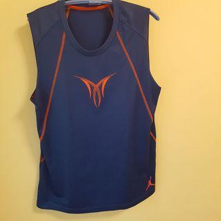 🚚 Nike Jordan Melo 藍色無袖球衣 尺寸L
