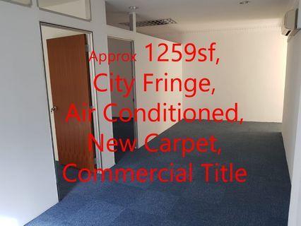Lavender Street Office Rental Space at City Fringe yet Affordable!