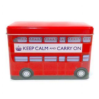 英國經典早餐茶包40包組 (巴士鐵盒裝)