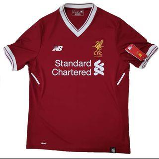 Official Liverpool 2017-2019 Home Shirt Henderson #14 Size: XL