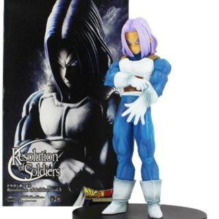 18cm Dragon Ball Z Trunks Figure With Gloves DBZ Resolution of Soldiers vol.5 Figurine PVC Action Figure Collectible Model Toy Gift
