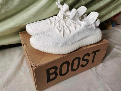 Adidas Yeezy Cream White BNIB Size 9'5